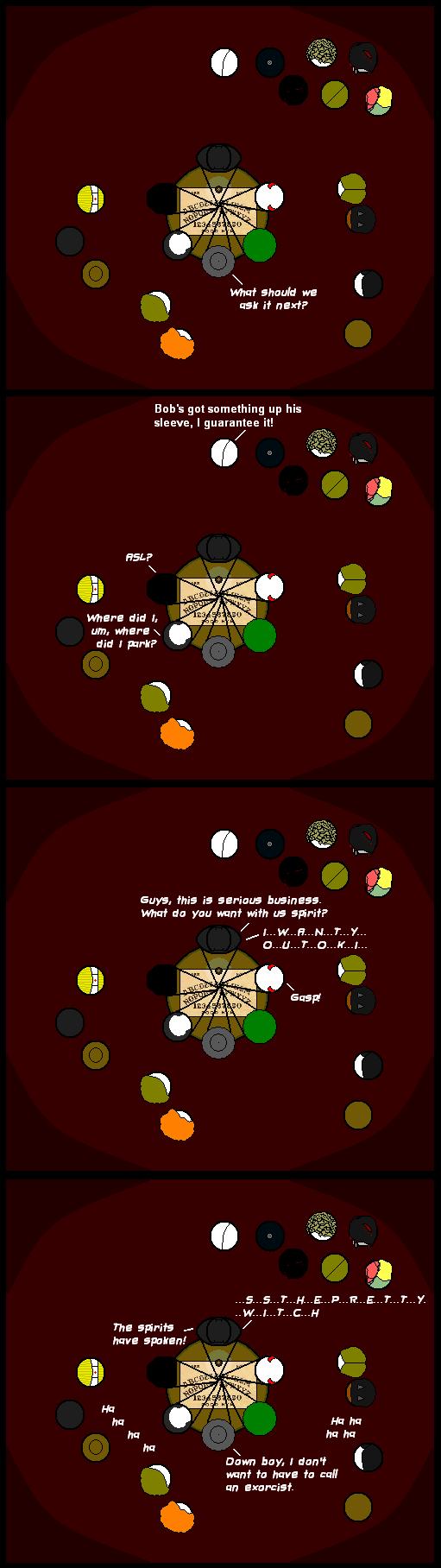 26 Ouija Board